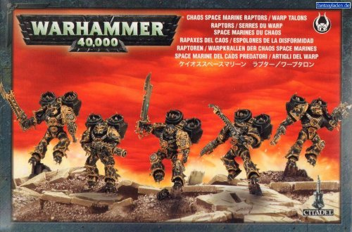 Warhammer 40k Chaos Space Marine Raptors (Chaos Space compare prices)