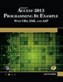 Microsoft Access 2013 Programming By Example: with VBA, XML, and ASP (CD included)
