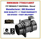 Mass Air Flow Meter for Vauxhall, Renault,Nissan 5WK9609