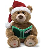 "Enesco Christmas Storytime 17"" Bear Gund Fun"