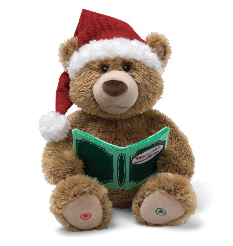 personnalise-animated-bear-night-before-christmas-lourson-et-ses-amis-