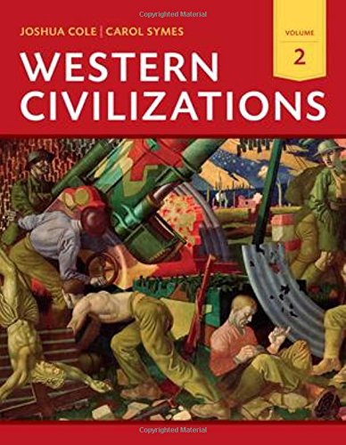 Read Western Civilizations Their History Their Culture