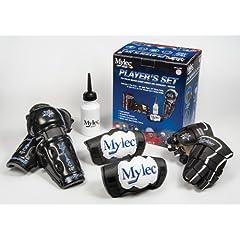 Buy Mylec Player's Set, Black White Blue, Medium by Mylec