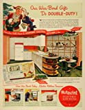 1942 Ad Hotpoint Electric Kitchen Home Appliances WWII - Original Print Ad