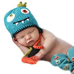Huggalugs Baby and Toddler Monster Beanie Hat Large
