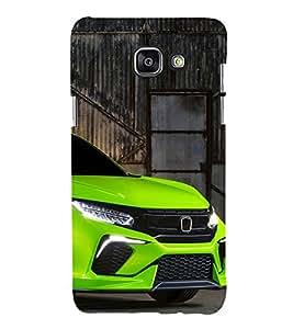 99Sublimation Cool Car 3D Hard Polycarbonate Designer Back Case Cover for Samsung Phones