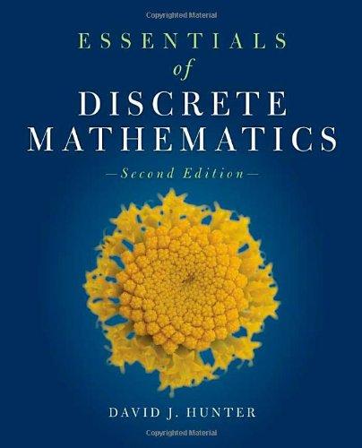 Essentials Of Discrete Mathematics (The Jones &...