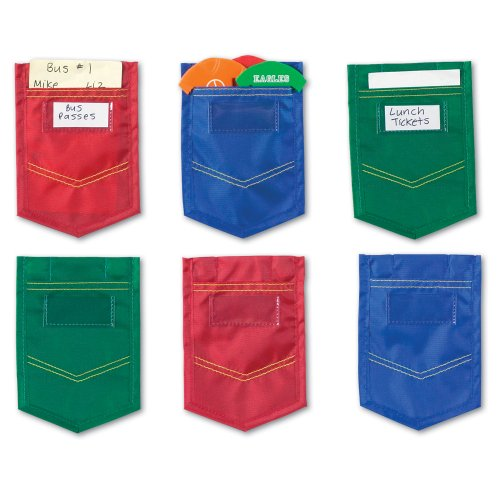 Learning Resources Magnetic Mini Pockets Set of 6