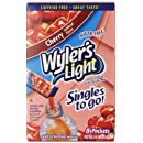 Wyler's Light Singles To Go Drink Mix, Cherry,  (Pack of 12)
