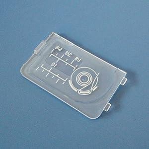HONEYSEW Cover Plate For Babylock Elna Janome 8050 MC6600 Horizon MC11000 Kenmore by HONEYSEW
