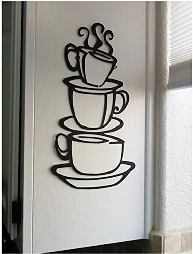 Coffee Cup Restaurant Cafe Wall Art Stickers Decal Decoration