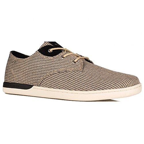 Creative Recreation Men's Vito Lo Fashion Sneaker, Khaki Black, 13 M US