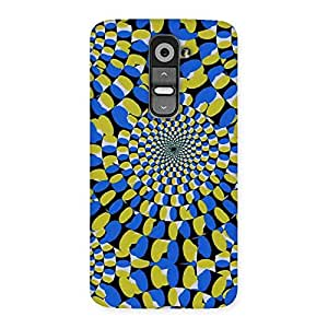 Enticing Classic Illusion Back Case Cover for LG G2