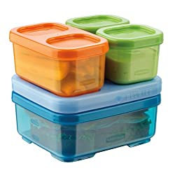 [Best price] Kids&#039 - Rubbermaid 1866739 LunchBlox Kid's Tall Lunch Box Kit, Blue/Orange/Green - toys-games