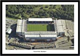Framed Blackburn Ewood Park Stadium Aerial View Photo
