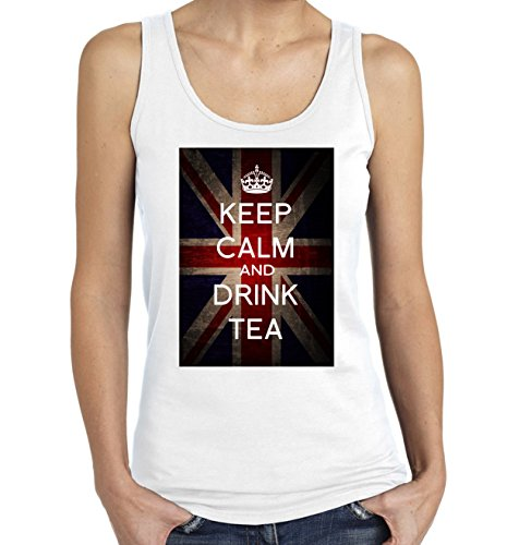 keep-calm-and-drink-tea-graphic-womens-tank-top-t-shirt-x-large