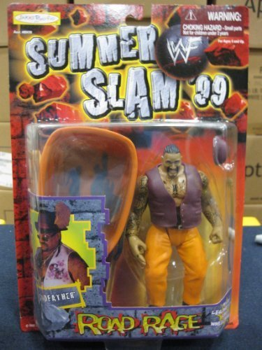 WWF Summer Slam 99 Road Rage Godfather By Jakks 1999