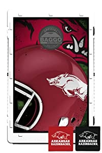 Baggo 6609 Home Field Advantage Arkansas Razorbacks Complete Baggo Bean Bag Toss Game by Baggo
