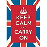 (20x28) Keep Calm and Carry On Decorative Decoupage Paper Poster