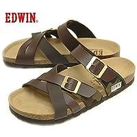 エドウィン EDWIN EW9166 メンズ サンダル フットベットサンダル