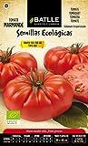 El tomate MARMANDE RAF es un tomate multilobular, acostillado, cuello verde y forma ligeramente achatada. Su peso es de 180-200 grs. El porte de la planta es semi-determinado alto y es resistente al Fusarium. Tiene un excelente sabor y un tra...