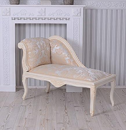 Barocksofa Antik Couch Retro Salonsofa Recamiere Shabby Chic Sofa