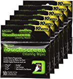 Touchscreen Cleaning Wipes, 6 Packs of 10(60 Wipes) (pocket size)