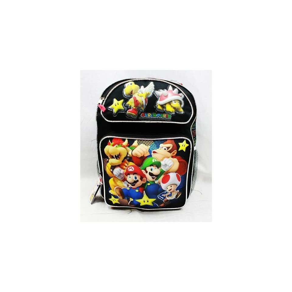 Medium Backpack   Nintendo   Super Mario Bros   Black Toys & Games