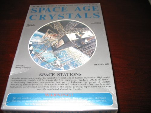 Space Age Crystal Growing Kit - Ages 12+