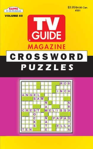 TV Guide Crossword Puzzle Book-Vol.40