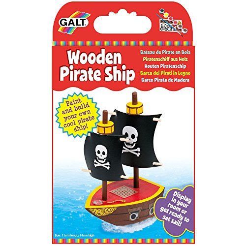 Galt Wooden Pirate Ship