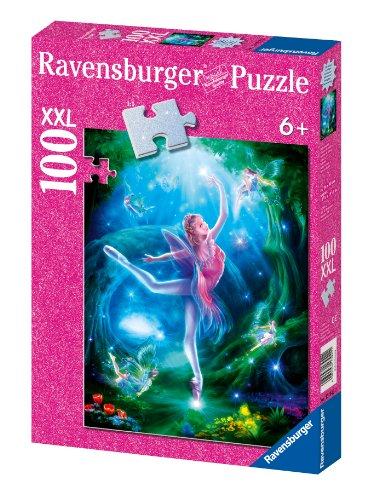 Ravensburger Ballet Lesson - 100 Piece Glitter Puzzle - 1
