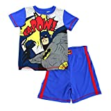 Batman Boys Poly Shorts Pajamas