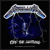 METALLICA RIDE THE LIGHTNING PATCH 10X10CM