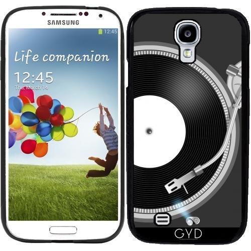 Custodia in silicone per Samsung Galaxy S4 (GT-I9500/GT-I9505) - Giradischi by AnishaCreations