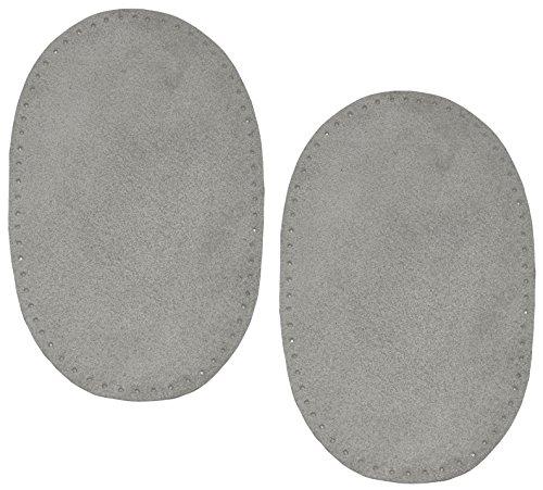 2-stk-wildleder-echtes-leder-flicken-grau-10-cm-155-cm-oval-zum-aufnahen-aufnaher-applikation-xl-for