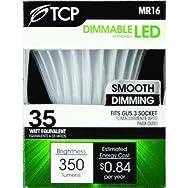 TCP MR16 Dimmable LED Floodlight Light Bulb-7W 12V MR16 LED 30K BULB