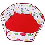 【Lucky Style】 子供用 ボールプール キッズ テント 折りたたみ式 おもちゃ箱 100cm