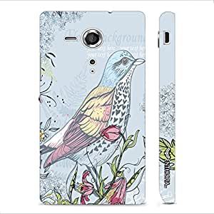 Sony Xperia SP Pisces Blue designer mobile hard shell case by Enthopia