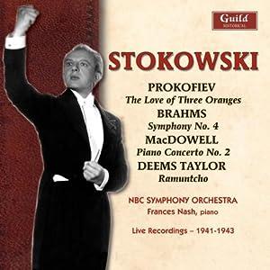 Stokowski Conducts Prokofiev Brahms Mcdowell