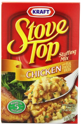Stove Top Chicken, 6 Ounce Boxes (Pack Of 6)
