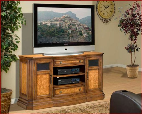 Image of Encore Entertainment - Contemporary TV Stand AP-ATL-CS59 (B002UXJER0)