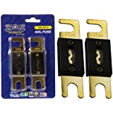 Absolute ANL200-2, 2 Pack ANL Fuses 200 Amp Gold Plated