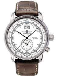 Graf Zeppelin Dual Time Big Date 100 Years of Zeppelin Watch 7640-1