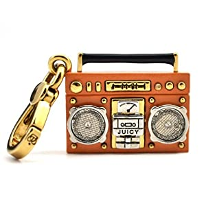 Juicy Couture Retro Boombox Charm