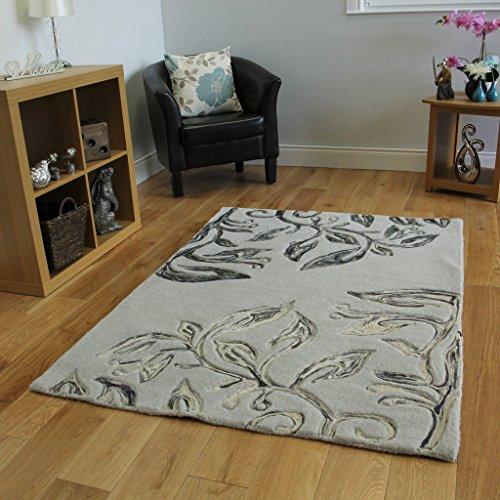 tappeti-con-motivo-floreale-fatti-a-mano-motivo-3d-color-grigio-asfalto-2-formati-essence