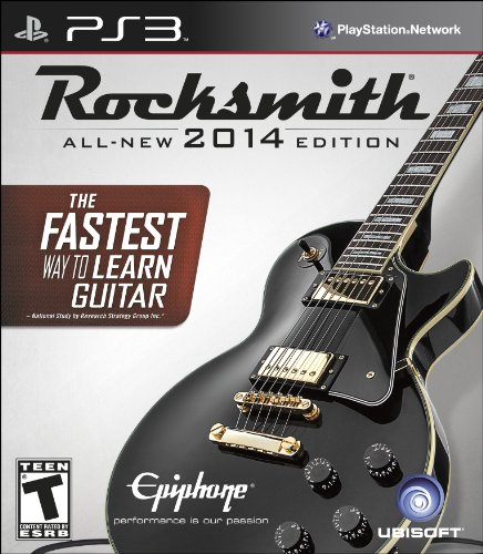 Rocksmith 2014 Edition - Playstation 3 (Cable Included)