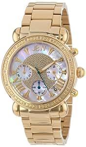 "JBW Women's JB-6210-I ""Victory"" Combo Gold Diamond Watch"