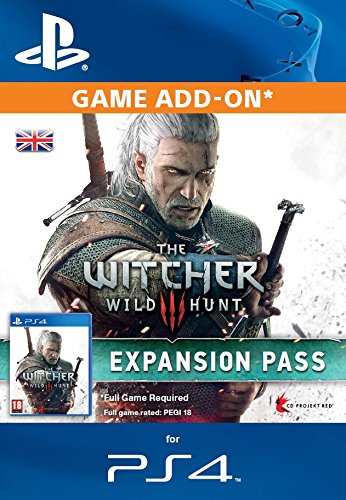 The Witcher 3: Wild Hunt Expansion Pass Online Code (PS4)