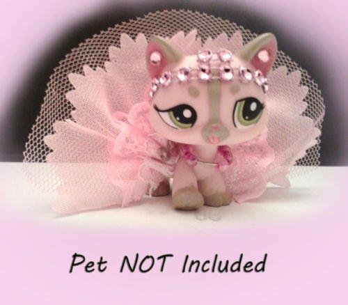 LPS ! accessories lot Littlest Pet Shop outfit 32 (Ho Outfits)